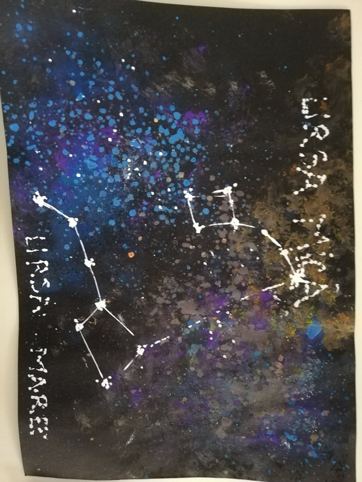 """Painting Contests """"Lucky Constellation"""""""