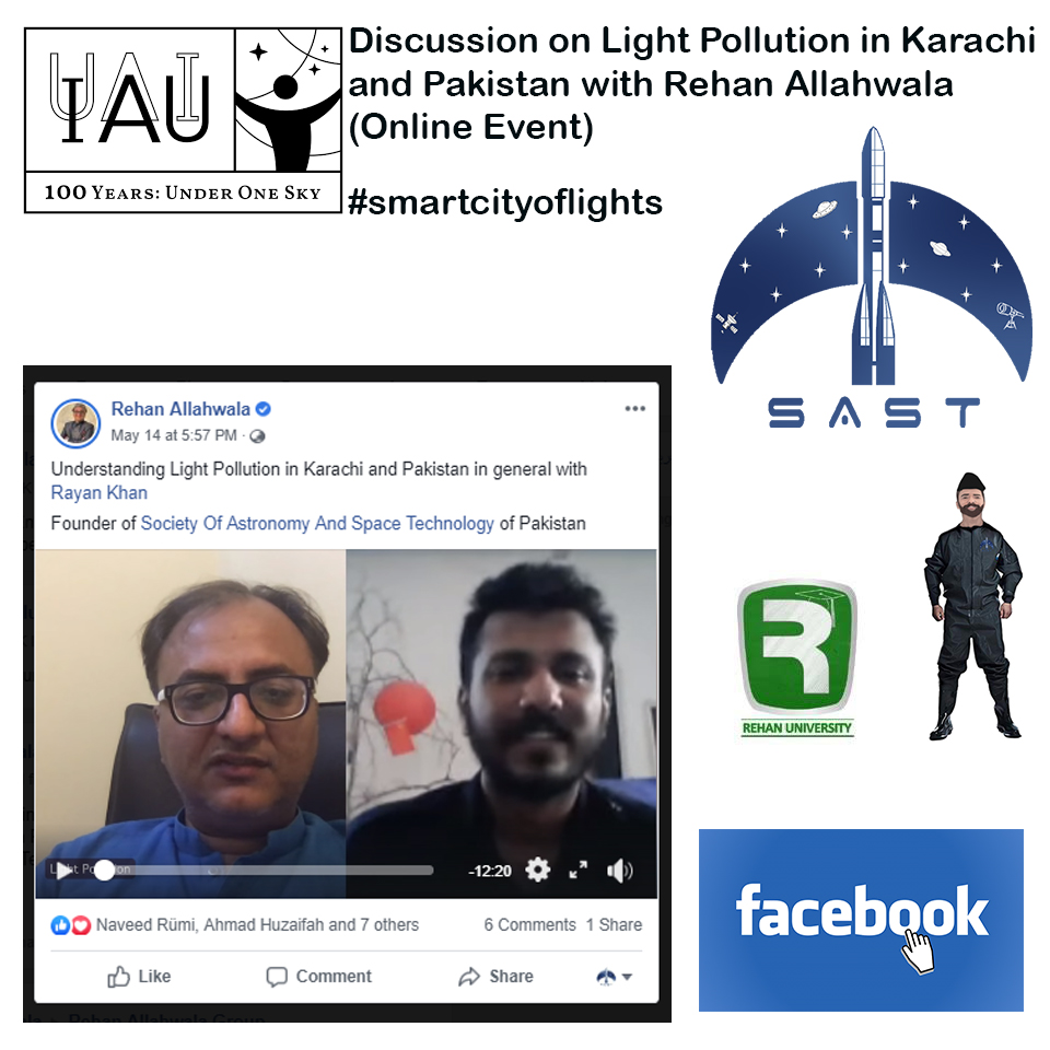 Discussion on Light Pollution with Rehan Allahwala