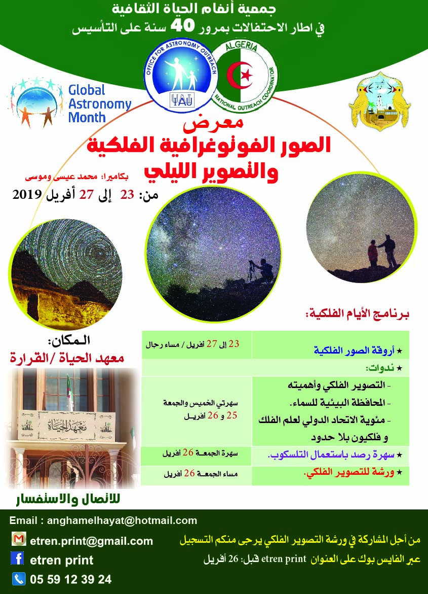 publiciy of exhibition
